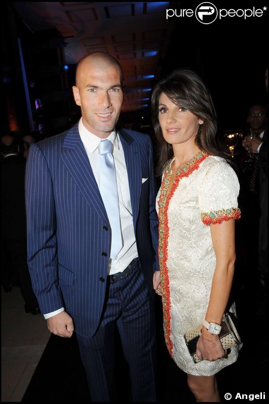Zinedine Zidane couple
