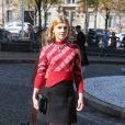 """Clémence Poésy - Défilé de mode printemps-été 2018 """"Miu Miu"""" au Palais d'Iéna. Paris, le 3 octobre 2017 © CVS-Veeren / Bestimage"""