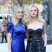 Fashion Week : Dakota et Elle Fanning, un duo lumineux à Paris !