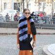"""Olivia Palermo - Défilé de mode printemps-été 2018 """"Miu Miu"""" au Palais d'Iéna. Paris, le 3 octobre 2017 © CVS-Veeren / Bestimage"""