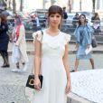 """Emily Ratajkowski - Défilé de mode printemps-été 2018 """"Miu Miu"""" au Palais d'Iéna. Paris, le 3 octobre 2017 © CVS-Veeren / Bestimage"""