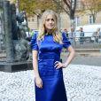"""Dakota Fanning - Défilé de mode printemps-été 2018 """"Miu Miu"""" au Palais d'Iéna. Paris, le 3 octobre 2017 © CVS-Veeren / Bestimage"""