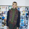 Stromae - People au défilé de mode hommes Valentino collection prêt-à-porter Automne Hiver 2015/2016 à l'hôtel Salomon de Rothschild à Paris, le 21 janvier 2015.