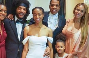 Beyoncé de mariage avec Jay-Z, une robe à 5000 dollars pour son sosie Blue Ivy