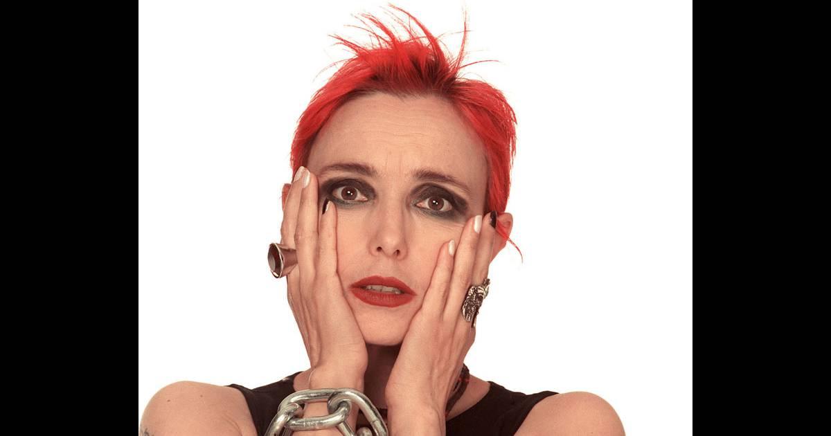 Jeanne mas dans les ann es 80 cheveux rouge maquillage noir son tube de 1986 tait bien - Jeanne mas et son mari ...