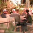 Exclusif - Kendall Jenner et son petit ami Blake Griffin sont dîné au restaurant Ocean Prime à Beverly Hills, le 11 octobre 2017.