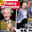 Couverture du magazine France Dimanche en kiosques le 13 octobre 2017
