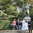 La princesse Mary de Danemark lors d'un voyage officiel pour célébrer les 150 ans de relations diplomatiques entre le Danemark et le Japon le 10 octobre 2017.10/10/2017 -