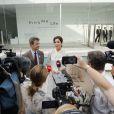 Le prince Frederik et la princesse Mary de Danemark lors d'un voyage officiel pour célébrer les 150 ans de relations diplomatiques entre le Danemark et le Japon le 09 octobre 2017.09/10/2017 -