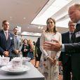 La princesse Mary de Danemark à un séminaire d'affaires à Tokyo au Japon le 11 octobre 2017.