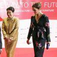 Le prince héritier Frederik de Danemark et la princesse Mary ont pris part en compagnie du prince héritier Naruhito du Japon et de la princesse Masako à une réception en l'honneur des 150 ans d'amitié entre leurs deux pays, au dernier jour de leur visite officielle, le 12 octobre 2017 à Tokyo.