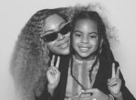 Beyoncé et son sosie Blue Ivy, joueuses et dansantes au mariage d'un ami