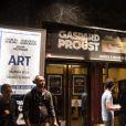 """Exclusif - Entrée du théâtre Antoine - Représentation de la pièce """"Les chatouilles (Ou la danse de la colère)"""" d'Andréa Bescond portant sur la pédophilie, au théâtre Antoine, à Paris, le 16 octobre 2017."""