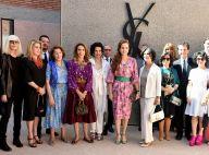 Lalla Salma du Maroc, Madison Cox, Catherine Deneuve dans l'aura YSL à Marrakech