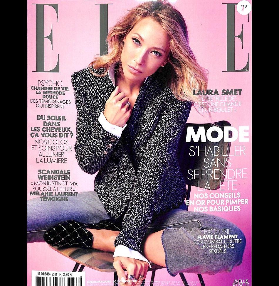 Extrêmement Couverture du magazine ELLE, numéro du 20 octobre 2017. VA44