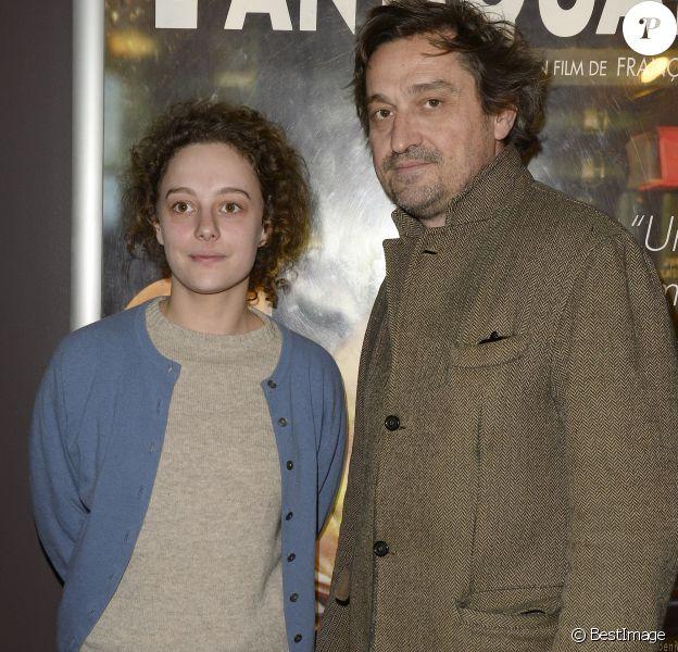 """Alice de Lencquesaing et Louis-Do de Lencquesaing - Avant-première du film """"L'Antiquaire"""" au Cinéma des Cinéastes à Paris, le 17 mars 2015."""