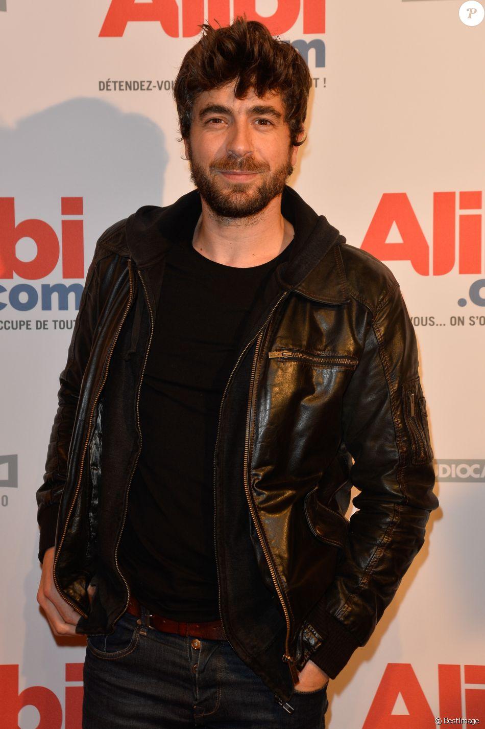 """Agustin Galiana - Avant-première du film """"Alibi.com"""" au cinéma Gaumont Opéra à Paris, le 31 janvier 2017."""
