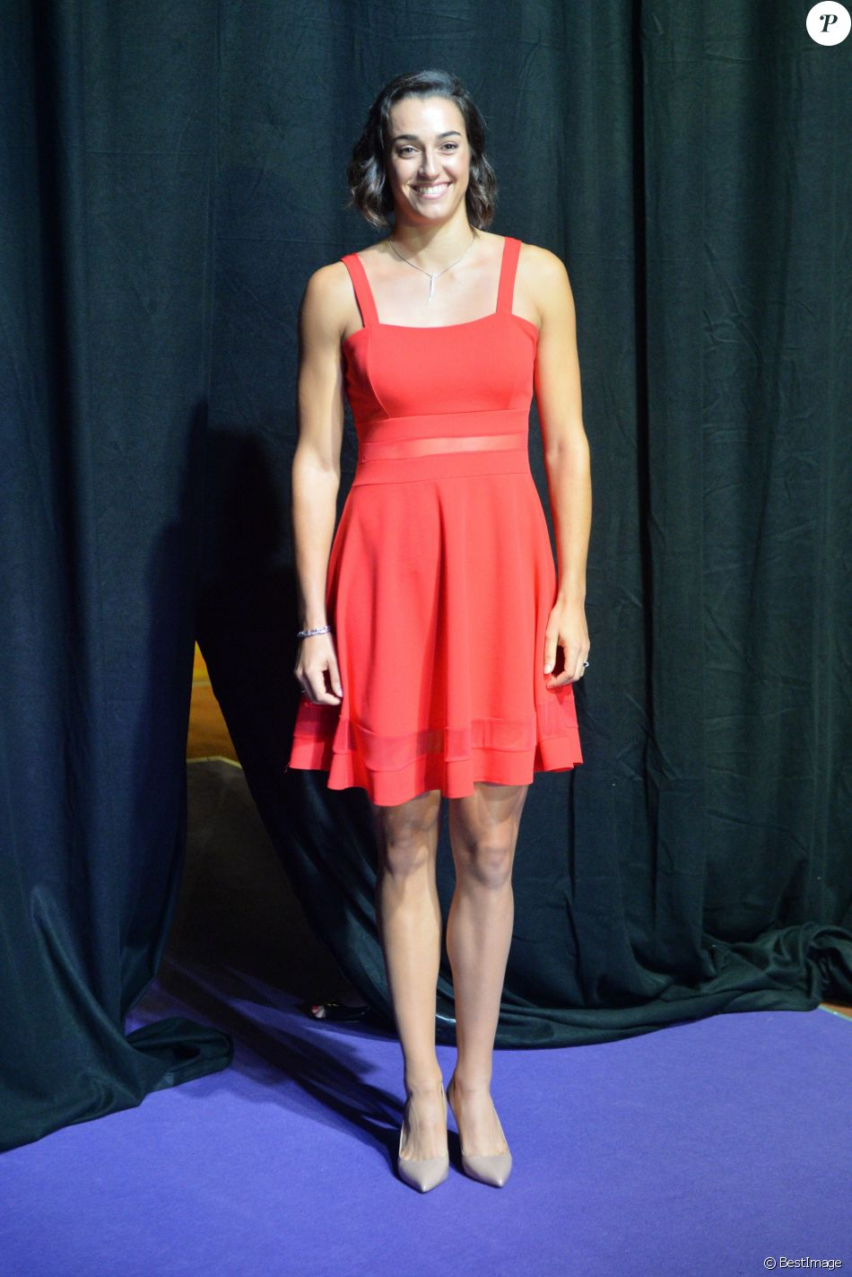 Caroline Garcia lors du photocall du WTA Finals 2017 à Singapour le 20 octobre 2017 © Then Chih Wey/Xinhua via ZUMA Wire / Bestimage