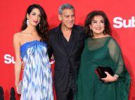 Amal Clooney : Si glamour pour un tapis rouge avec George et sa mère Baria