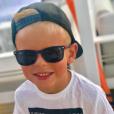 Hugo, l'adorable fils d'Amélie Neten, né en décembre 2011.