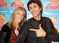 Jean-Luc Lahaye et sa jeune chérie in love face à Lââm pour applaudir Zize