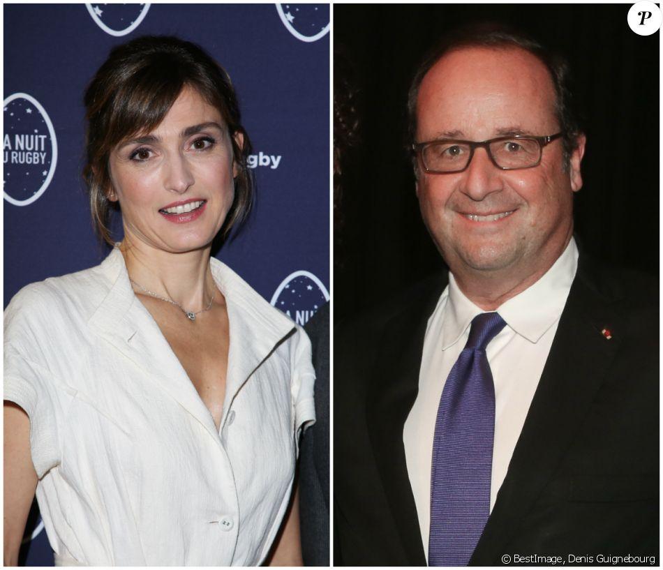 """Julie Gayet et François Hollande ont signé leur première apparition officielle le 21 octobre dernier lors de la première du conte musical """"Georgia tous mes rêves chantent"""" au château d'Hardelot, dans le Pas-de-Calais."""