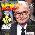 Couverture du magazine VSD en kiosques le 26 octobre 2017