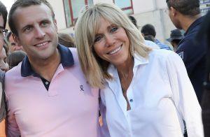 Brigitte et Emmanuel Macron  Leurs dix ans de mariage célébrés cachés.