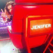 Jenifer : Nouvelle couleur de cheveux tendance pour The Voice kids