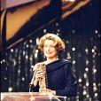 Catherine Deneuve meilleure actrice aux César 1993.