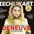 Catherine Deneuve en couverture du numéro de novembre 2017 de   Technikart.