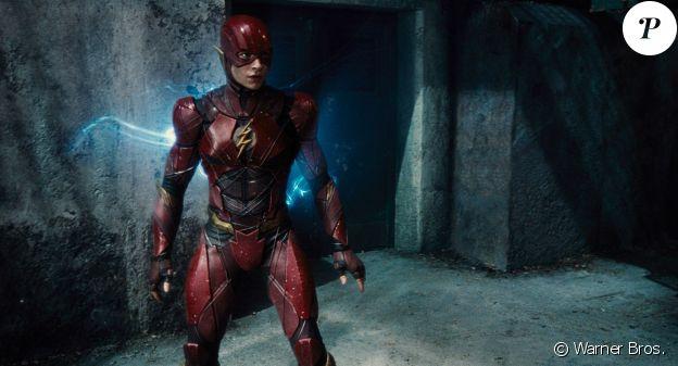 """Ezra Miller incarne The Flash dans """"Justice League"""", en salles le 15 novembre 2017."""
