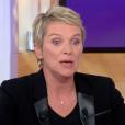 """Élise Lucet évoque les plaintes à son encontre sur le plateau de """"C à Vous"""" (France 5), mardi 7 novembre 2017."""