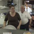 """""""Philippe Etchebest hurle sur Chantal dans """"Cauchemar en cuisine"""" sur M6, le 18 janvier 2017."""""""