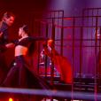 Camille Lacourt et Candice Pascal dans Danse avec les stars 8, le 11 novembre 2017 sur TF1.