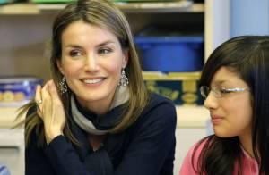 Quand la splendide princesse Letizia... redonne le sourire aux enfants malades !