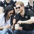 """""""Meghan Markle et le prince Harry le 25 septembre 2017 à Toronto lors des 3e Invictus Games."""""""