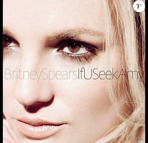 Britney Spears sur la pochette de son single if You Seek Amy