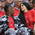 Travis Scott et Kylie Jenner à Houston, le 25 avril 2017.