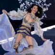 Ming Xi - Défilé Victoria's Secret 2017 à la Mercedes-Benz Arena Shanghaï. Shanghaï, le 20 novembre 2017.