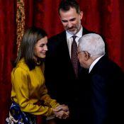 Letizia d'Espagne : Solaire face à Mahmoud Abbas pour trinquer à la paix