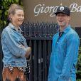 Exclusif - Adam Levine et sa femme Behati Prinsloo sont allés diner au restaurant Giorgio Baldi à Santa Monica, le 23 juin 2017