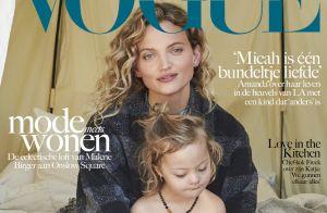 Amanda Booth : Avec son fils trisomique, elle fait la couverture de Vogue