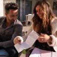 """Laetitia Milot et Badri se confie sur la grossesse de l'actrice - """"50 min Inside"""", samedi 25 novembre 2017, TF1"""