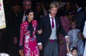 Christian de Hanovre et Sassa de Osma : Beaux mariés devant Caroline et son clan