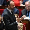 Le premier ministre Edouard Philippe lors d'une séance de questions au gouvernement à l'Assemblée Nationale à Paris, le 5 juillet 2017. © Lionel Urman/Bestimage