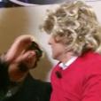 Gilles Verdez giflé par JoeyStarr en coulisses de Nouvelle Star, le 19 avril 2016, sur D8