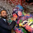 Exclusif - Cyril Hanouna - Cocktail d'inauguration de la première galerie Pop Art Concept store entièrement dédié aux oeuvres de Richard Orlinski à Paris, le 23 novembre 2017. © Rachid Bellak/Bestimage