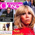 "Couverture du magazine ""Closer"" en kiosques le 1er décembre 2017."