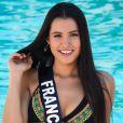 Miss Franche-Comté en maillot de bain lors du voyage Miss France 2018 en Californie, en novembre 2017.